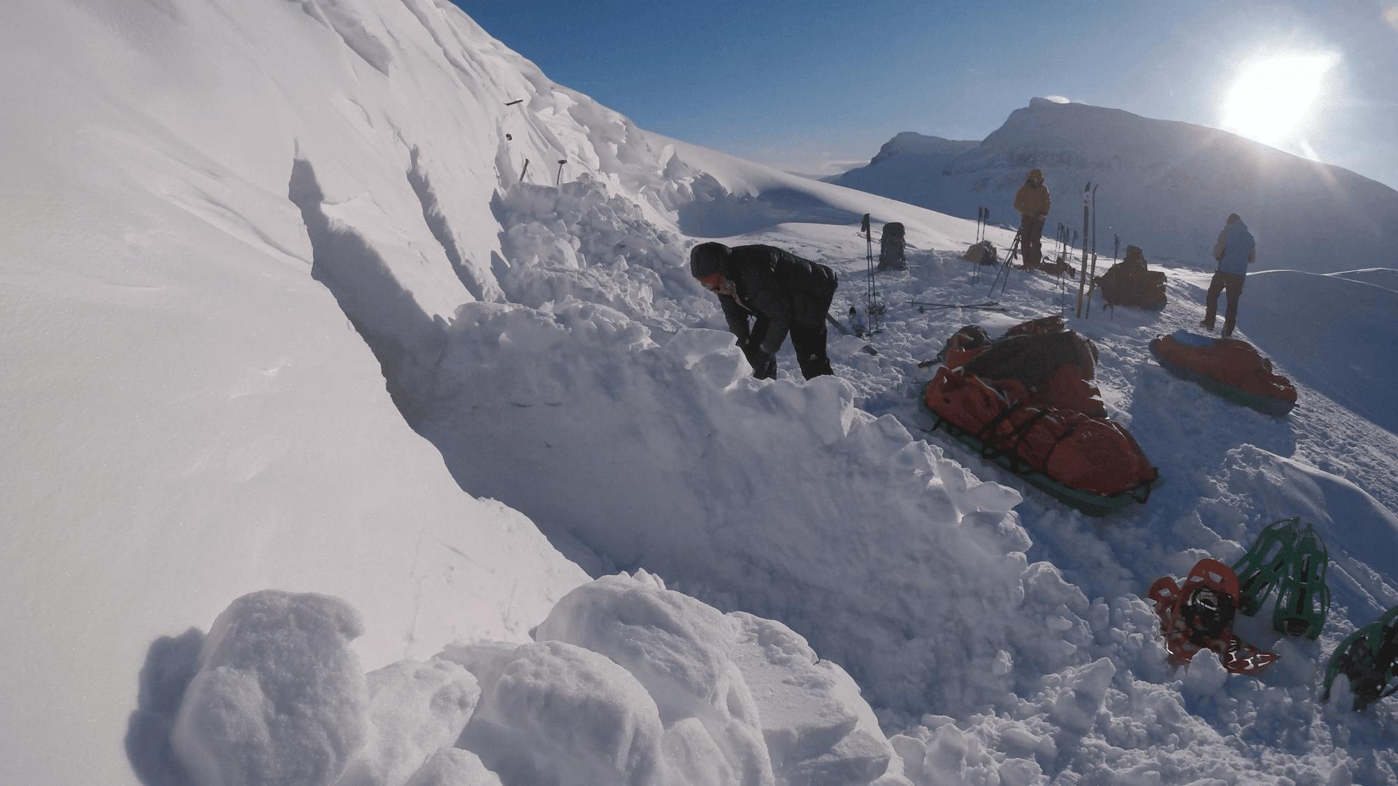 snowhole
