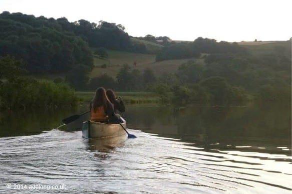 stag-canoeing-devon