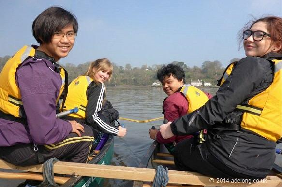 school-canoeing-devon
